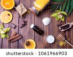 orange  chocolate  cinnamon.... | Shutterstock . vector #1061966903