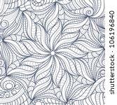 vector seamless abstract black... | Shutterstock .eps vector #106196840