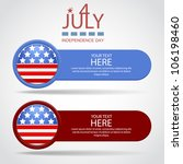 banners by july 4th | Shutterstock .eps vector #106198460