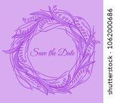 handdrawn wreath made in vector....   Shutterstock .eps vector #1062000686