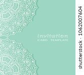invitation or card template... | Shutterstock .eps vector #1062007604