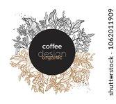 trendy botanical template... | Shutterstock .eps vector #1062011909