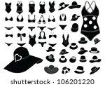 summer fashion | Shutterstock .eps vector #106201220