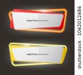 neon colloquial. speech bubble... | Shutterstock .eps vector #1062012686