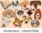 cartoon vector illustration of... | Shutterstock .eps vector #1062019568