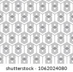 vector seamless geometric... | Shutterstock .eps vector #1062024080