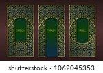 vintage golden packaging design ... | Shutterstock .eps vector #1062045353