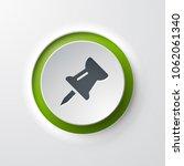 pushpin web icon | Shutterstock .eps vector #1062061340