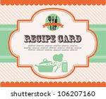 kitchen shower. vector... | Shutterstock .eps vector #106207160