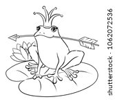 Princess Frog Fairy Tale Animal ...