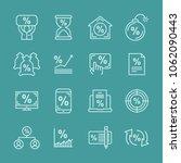 deposit profit and business...   Shutterstock .eps vector #1062090443