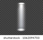 white glowing transparent... | Shutterstock .eps vector #1062094703