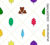 seamless background with vector ...   Shutterstock .eps vector #1062097490