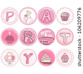 Pink Party Tags