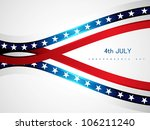 abstract 4th july american... | Shutterstock .eps vector #106211240