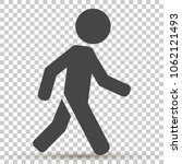vector icon of a walking...   Shutterstock .eps vector #1062121493