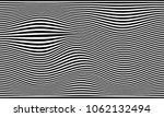 black white line distortion... | Shutterstock .eps vector #1062132494