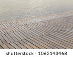 plank with water | Shutterstock . vector #1062143468