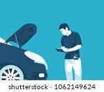flat illustration vehicle...   Shutterstock .eps vector #1062149624