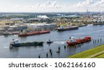 aerial view of various oil...   Shutterstock . vector #1062166160