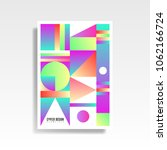 abstract multicolored cover....   Shutterstock .eps vector #1062166724