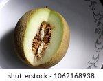 galia melon  sarda in india and ... | Shutterstock . vector #1062168938