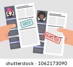 looking for an employee.... | Shutterstock .eps vector #1062173090