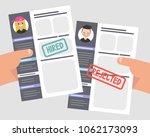 looking for an employee.... | Shutterstock .eps vector #1062173093