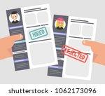 looking for an employee.... | Shutterstock .eps vector #1062173096
