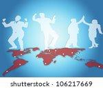 group of finance professionals | Shutterstock . vector #106217669