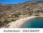 kendros  beautiful sandy beach... | Shutterstock . vector #1062186059