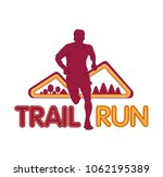 vector logo silhouette of a... | Shutterstock .eps vector #1062195389