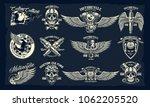 vector set of classic... | Shutterstock .eps vector #1062205520