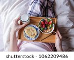 light and delicious healthy... | Shutterstock . vector #1062209486