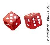 dices vector design | Shutterstock .eps vector #1062211223