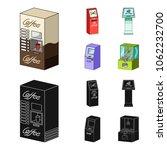 coffee machine  atm ... | Shutterstock .eps vector #1062232700