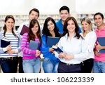 group of people at the... | Shutterstock . vector #106223339