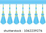 vector seamless border pattern. ... | Shutterstock .eps vector #1062239276