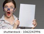 beautiful brunette girl with... | Shutterstock . vector #1062242996