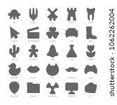 basic design shapes set. simple ...   Shutterstock .eps vector #1062262004