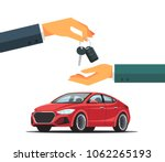 buying or renting a new or used ... | Shutterstock .eps vector #1062265193