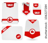 set of banners for business | Shutterstock .eps vector #106227284