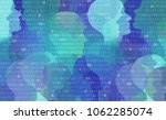user data privacy as an... | Shutterstock . vector #1062285074
