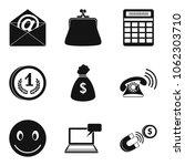 viral marketing icons set.... | Shutterstock .eps vector #1062303710