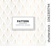 seamless geometric pattern.... | Shutterstock .eps vector #1062305744