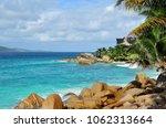 granite rocky ocean shore and... | Shutterstock . vector #1062313664