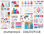 infographic elements data... | Shutterstock .eps vector #1062319118