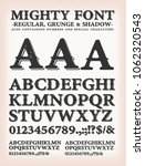 mighty western font regular ... | Shutterstock .eps vector #1062320543
