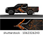 truck graphic. abstract modern... | Shutterstock .eps vector #1062326243