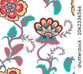 flowers seamless pattern | Shutterstock .eps vector #1062336566